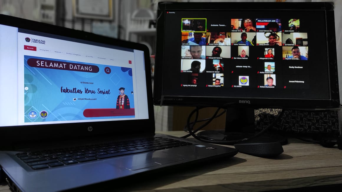 Virtual Meeting Persiapan PKKMB 2020 FIS UNIMA